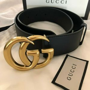 Size 6 Signature Gucci Belt
